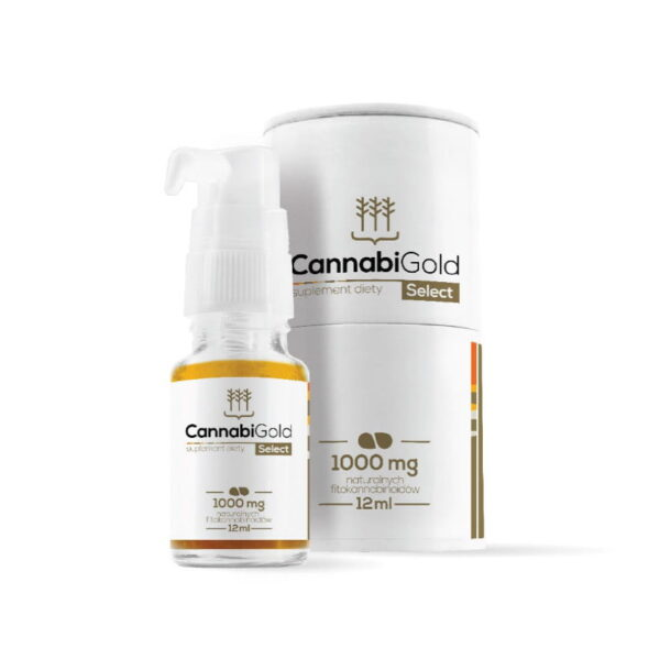 OLEJEK CBD CannabiGold Select 1000 mg
