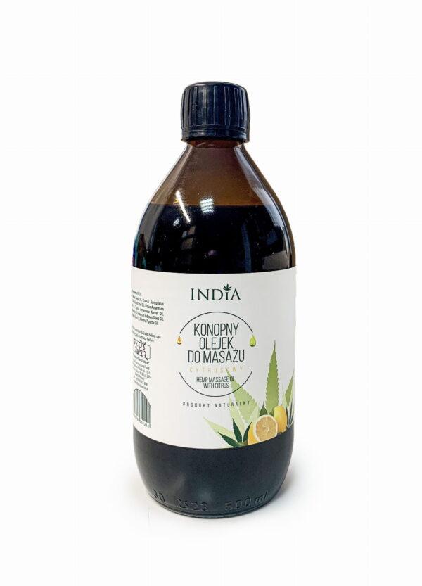 Olejek do masażu cytrusowy INDIA 500ml