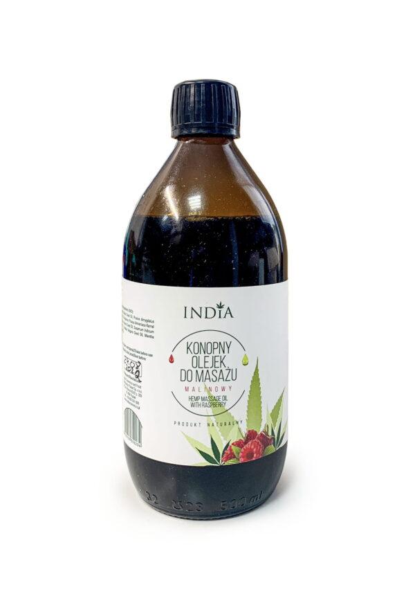Olejek do masażu malinowy INDIA 500ml
